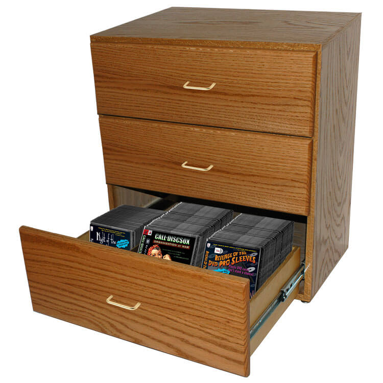 Discsox 3 Drawer Blu Ray Dvd Soxchest 545 00