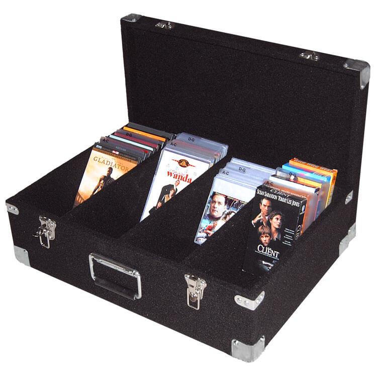 Media Dj Case Heavy Duty Dvd Pro
