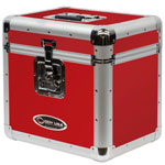 Vinyl LP Storage Case Red