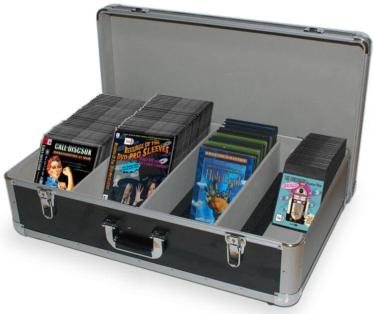 CD DVD Bluray Storage Sleeves Accessories DJ Cases Holders Magnificent Decorative Dvd Storage Boxes