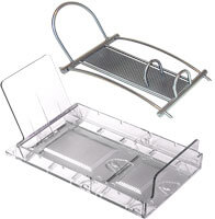 Expandable Snap-fit Tray and Metal Holder