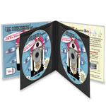 4-Disc CD Wallet - 10 Pack